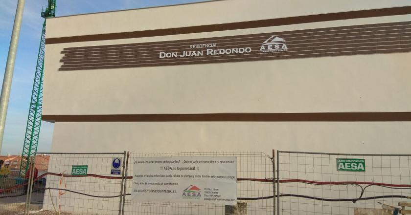 Fachada Residencial Don Juan Redondo